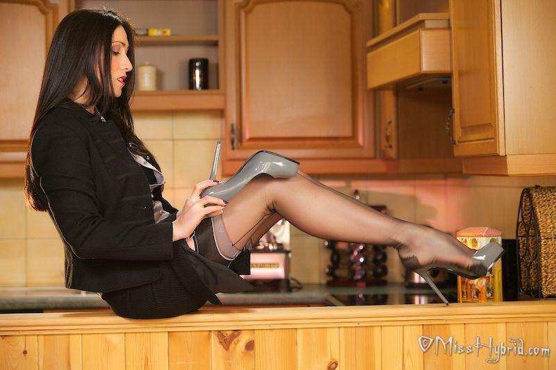 Nylon stockings ars vivendi feet