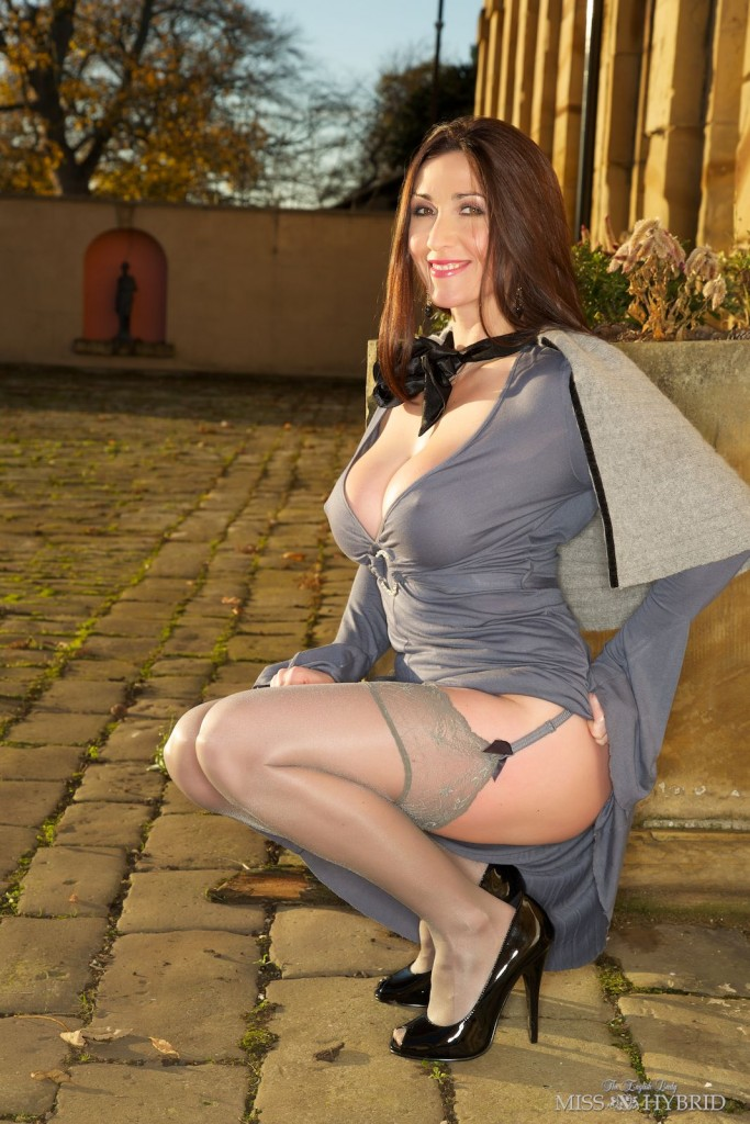 Stockings-outdoors