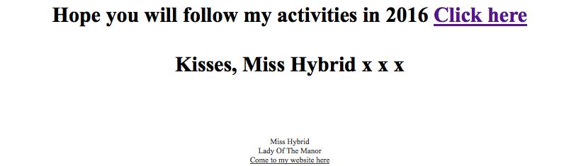 Miss Hybrid site