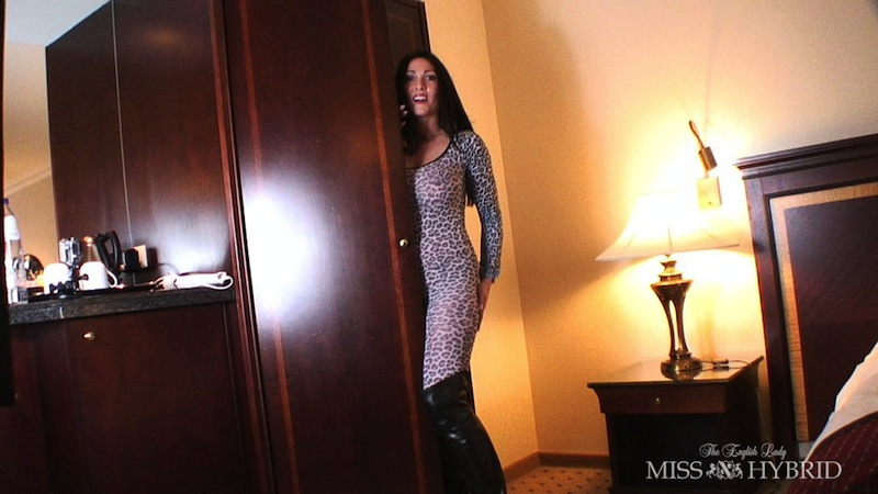 Miss Kitty, Miss Hybrid, catsuit, thigh boots
