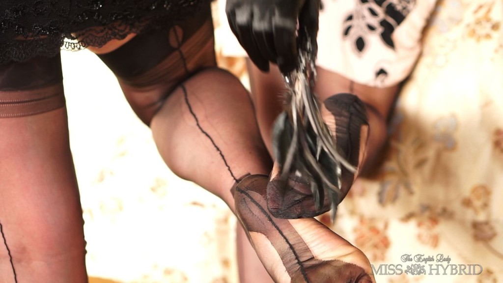 Forget Fifty Shades Watch Something Real, Miss Hybrid, Gabriella, nylons, toys, bondage, girl girl, upskirt, lesbian