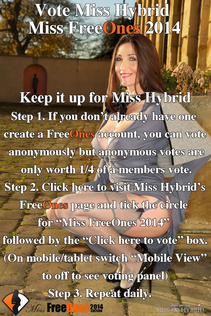 poke Miss Hybrid's box daily, Miss Freeones 2014