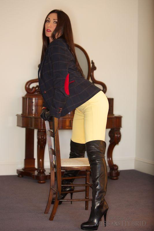 Miss Hybrid Boots Jodhpurs-9421