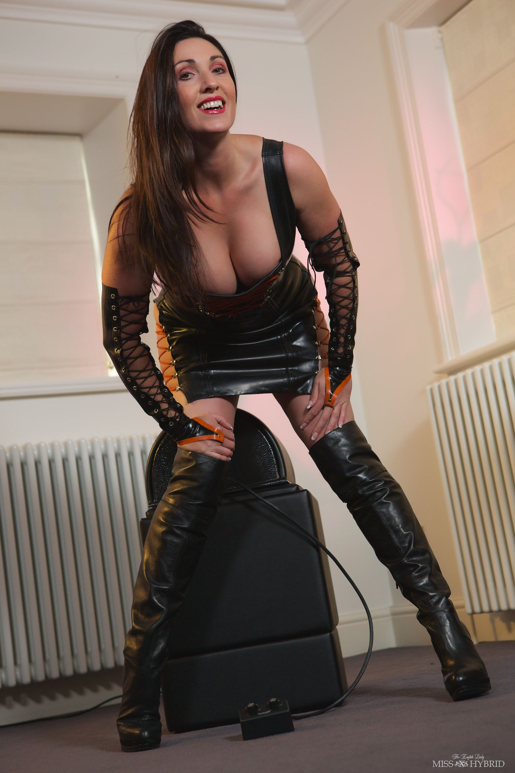 and leather Latex